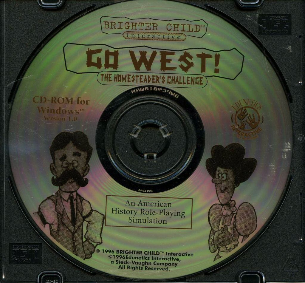 Go West CD-ROM
